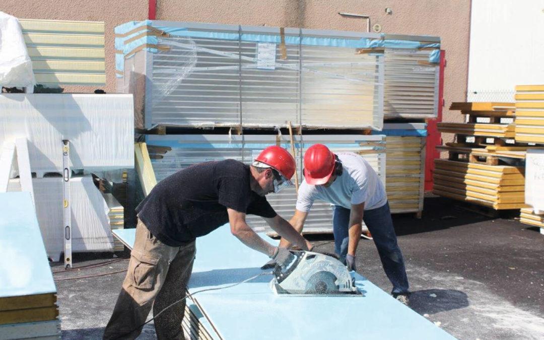 Le montage de construction isotherme : Les outils nécessaires
